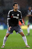 Pedro of Chelsea looks on. Barclays Premier League match, Crystal Palace v Chelsea at Selhurst Park in London on Sunday 3rd Jan 2016. pic by John Patrick Fletcher, Andrew Orchard sports photography.