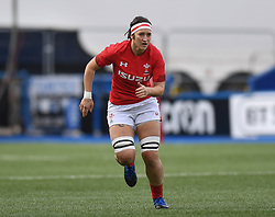 Wales Mel Clay<br /> Wales Women v South Africa Women<br /> Autumn International<br /> <br /> Photographer Mike Jones / Replay Images<br /> Cardiff Arms Park<br /> 10th November 2018<br /> <br /> World Copyright © 2018 Replay Images. All rights reserved. info@replayimages.co.uk - http://replayimages.co.uk