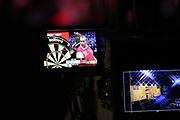 "Darts: Betfair Team World Cup 2013, Hamburg, 03.02.2013<br /> Phil ""The Power"" Taylor (ENG) on TV Camera Screen<br /> © Torsten Helmke"