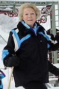 Fotosessie met de koninklijke familie in Lech /// Photoshoot with the Dutch royal family in Lech .<br /> <br /> Op de foto / On the photo:  Prinses Beatrix / Princes Beatrix