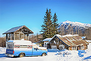 An Alaskan Bungalow in the small town of Wiseman.