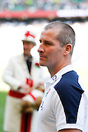 Picture by Andrew Tobin/Tobinators Ltd +44 7710 761829.26/05/2013.England head coach Stuart Lancaster looks on after winning 40-12 during the match between England and the Barbarians at Twickenham Stadium, Twickenham.