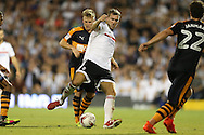 Kevin McDonald of Fulham in action. Skybet EFL championship match, Fulham v Newcastle Utd at Craven Cottage in Fulham, London on Friday 5th August 2016.<br /> pic by John Patrick Fletcher, Andrew Orchard sports photography.