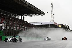 Lewis Hamilton (GBR) Mercedes AMG F1 W07 Hybrid.<br /> 13.11.2016. Formula 1 World Championship, Rd 20, Brazilian Grand Prix, Sao Paulo, Brazil, Race Day.<br />  <br /> / 131116 / action press