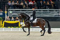 MÜLLER Lisa (GER), Gut Wettlkam's Stand By Me Old<br /> Stuttgart - German Masters 2019<br /> Preis der Firma tisoware<br /> GERMAN DRESSAGE MASTER<br /> Grand Prix Special<br /> 17. November 2019<br /> © www.sportfotos-lafrentz.de/Stefan Lafrentz