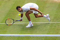 6 July 2017 -  Wimbledon Tennis (Day 4) - Grigor Dimitrov (BUL) in action during his 2nd round match - Photo: Marc Atkins / Offside.