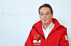 21.03.2020, Wien, AUT, Coronaviruskrise, Österreich, Pressekonferenz, Aktuelles zum Zivildienst, im Bild Rotes Kreuz-Generalsekretär Michael Opriesnig // during a press conference about the Coronavirus Pandemie in Wien, Austria on 2020/03/21. EXPA Pictures © 2020, PhotoCredit: EXPA/ Herbert Neubauer/APA-POOL
