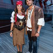 NLD/Amsterdam//20170522 - Film premiere  Pirates of the Caribbean, Laura Ponticorvo en partner Ryan Rijger