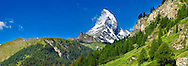 Matterhorn mountain peak - Swiss Alps - Switzerland .<br /> <br /> Visit our SWITZERLAND  & ALPS PHOTO COLLECTIONS for more  photos  to browse of  download or buy as prints https://funkystock.photoshelter.com/gallery-collection/Pictures-Images-of-Switzerland-Photos-of-Swiss-Alps-Landmark-Sites/C0000DPgRJMSrQ3U