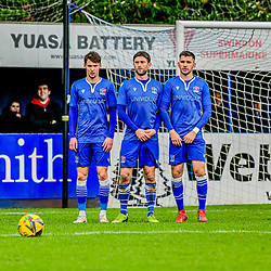 Swindon Supermarine hold the line as Alex Battle for Truro city takes the free kick 24/10/2020