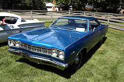01 August 2015:  1968 Plymouth Satellite - Otto Groth<br /> <br /> Displayed at the McLean County Antique Automobile Association Car show at David Davis Mansion in Bloomington Illinois