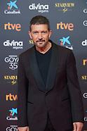 030621 35th Goya Cinema Awards 2021 - Red Carpet