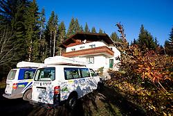 Training camp of Slovenian Cross country Ski team on October 23, 2012 in Ramsau am Dachstein, Austria. (Photo By Vid Ponikvar / Sportida)