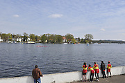 Berlin GERMANY.    General Views GV's,  and early racing, around the  Berlin Grunau Spring Regatta Course.  [Berliner Fruh-Regatta 2010 Berlin-Grunau.].  Saturday   24/04/2010.  [Mandatory Credit. Peter Spurrier/Intersport Images].