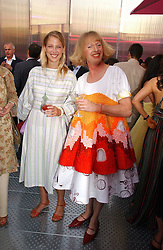 LADY GABRIELLA WINDSOR and GRAYSON PERRY at the Serpentine Gallery Summer party sponsored by Yves Saint Laurent held at the Serpentine Gallery, Kensington Gardens, London W2 on 11th July 2006.<br /><br />NON EXCLUSIVE - WORLD RIGHTS