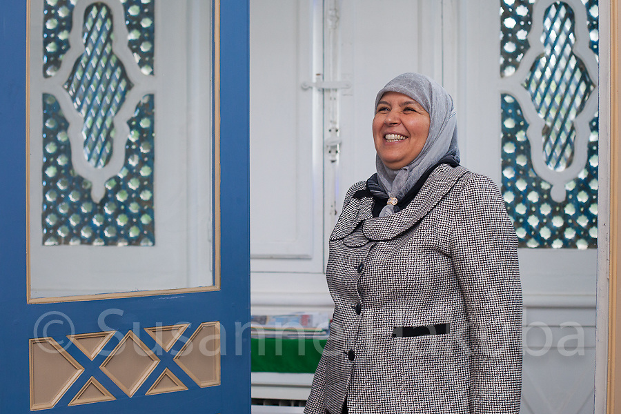 Mehrezia Labidi. Member of Tunisia's leading party Ennahda. She is the vice chair of the Constituent Assembly and holds the highest political office of any woman in the Arab world.
