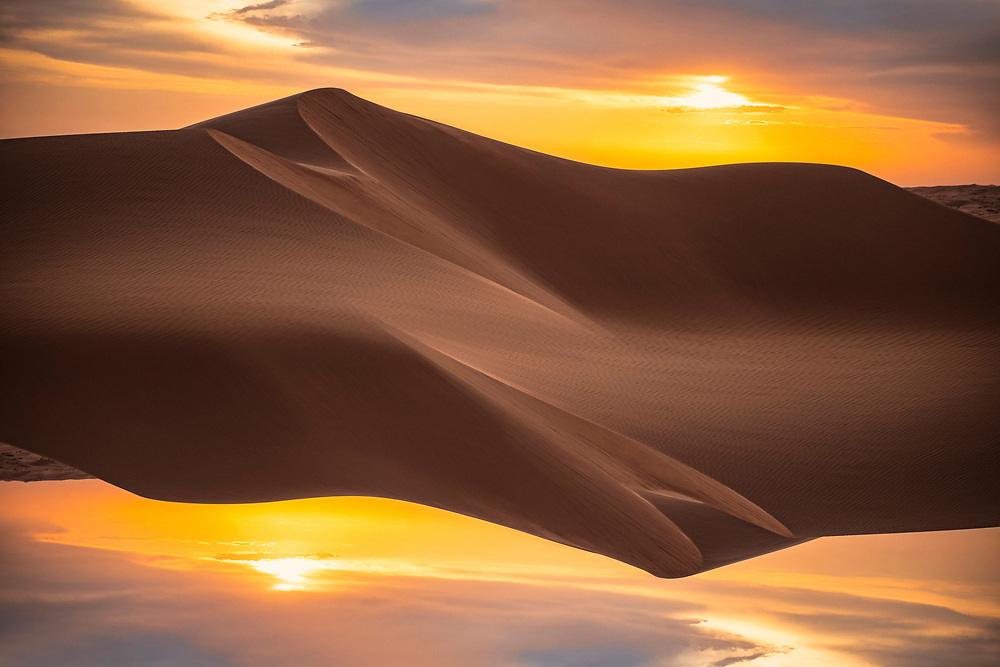 T W I S T E D <br /> GLAMIS DUNES<br /> Abstract Fine Art Photography Series featuring landscapes from various locations. All images ©justinalexanderbartels.com