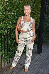 12 August 2021 - A dinner to celebrate the launch of Ghost Fragrances' alluring new scent , 'Orb of Night' held at The Mandrake Hotel, 20-21 Newman Street, London. <br /> Picture shows -Harley Brash<br /> <br /> Photo by Dominic O'Neill/Desmond O'Neill Features Ltd.  +44(0)1306 731608  www.donfeatures.com