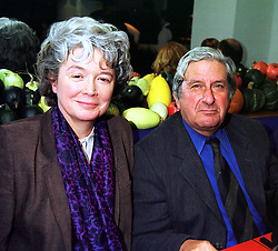 SIR JEREMY & LADY ISAACS at a party in London on 20th October 1999.MXZ 40