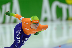 09-03-2013 SCHAATSEN: FINAL ISU WORLD CUP: HEERENVEEN<br /> NED, Speedskating Final World Cup Thialf Heerenveen / Laurine van Riessen pakt brons op de 1000 meter<br /> ©2013-FotoHoogendoorn.nl