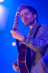 © Licensed to London News Pictures. 02/02/2015. London, UK.   Sorren Maclean performing live at Union Chapel, supporting headliner King Creosote.   Photo credit : Richard Isaac/LNP
