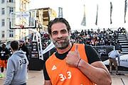 Basketball: ING-DiBa German Championship 3x3, Deutsche Meisterschaft, Hamburg, 05.08.2017<br /> Charity-Spiel: Carsten Spengemann (r.)<br /> (c) Torsten Helmke