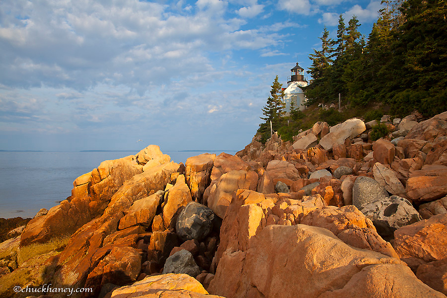 Bass Harbor Lighthouse in Acadia National Park, Maine, USA