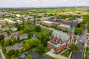 Aerial of the Misericordia Home in Chicago on Thursday, May 30, 2019. Photo by Mark Black