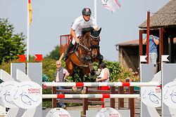 Youngster-Springprfg. Kl. M**, 8j. Pferde, CSN Ehlersdorf 17. - 19.07.2020 - Reitanlage Jörg Naeve, Casino Grande - Sosath, Hendrik