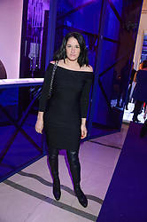 AMY MOLYNEAUX at a party to celebrate 25 years of John Frieda held at Claridge's, Brook Street, London on 29th October 2013.