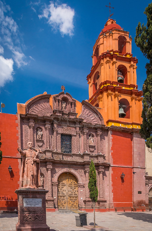 """------<br /> San Miguel de Allende is a city and municipality located in the far eastern part of the state of Guanajuato in central Mexico. It is part of the macroregion of Bajío. Historically, the town is important as being the birthplace of Ignacio Allende, whose surname was added to the town's name in 1826, as well as the first municipality declared independent of Spanish rule by the nascent insurgent army during the Mexican War of Independence. However, the town waned during and after the war, and at the beginning of the 20th century was in danger of becoming a ghost town. Its Baroque/Neoclassical colonial structures were """"discovered"""" by foreign artists who moved in and began art and cultural institutes such as the Instituto Allende and the Escuela de Bellas Artes. This gave the <br /> This attracted foreign art students, especially former U.S. soldiers studying on the G.I. Bill after the Second World War. Since then, the town has attracted a significant amount of foreign retirees, artists, writers and tourists, which is shifting the area's economy from agriculture and industry to commerce catering to outside visitors and residents. The main attraction of the town is its well-preserved historic center, filled with buildings from the 17th and 18th centuries. This and the nearby Sanctuary of Atotonilco have been declared World Heritage Sites in 2008."""