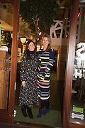 ZOE STIRLING; ANNEKE GILKES; , Launch of The Happy Kitchen: Good Mood Food, by Rachel Kelly and Alice Mackintosh. Squirrel, South Kensington. London. 31 January 2017