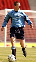 Fotball<br /> Skottland 2003<br /> <br /> Dundee 1 v Inverness Caley Thistle 0<br /> Scottish Cup semi final<br /> Hampden Park, Glasgow.<br /> Foto: Ian  Stewart, Digitalsport<br /> Sunday April 20th 2003<br /> Dave Mackay