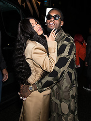 Cardi B and Offset are seen leaving Prabal Gurung fashion show during New York Fashion week. 11 Feb 2018 Pictured: Cardi B and Offset. Photo credit: MEGA TheMegaAgency.com +1 888 505 6342