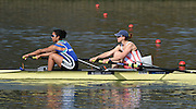 Caversham  Great Britain.<br /> Bow. Vicki MAYER-LAKER and Donna ETIEBET.<br /> 2016 GBR Rowing Team Olympic Trials GBR Rowing Training Centre, Nr Reading  England.<br /> <br /> Tuesday  22/03/2016 <br /> <br /> [Mandatory Credit; Peter Spurrier/Intersport-images]