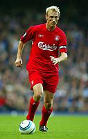 Fotball<br /> Foto: BPI/Digitalsport<br /> NORWAY ONLY<br /> <br /> Chelsea v Liverpool<br /> <br /> FA Barclays Premiership. 03/10/2004.<br /> <br /> Sami Hyypia of Liverpool