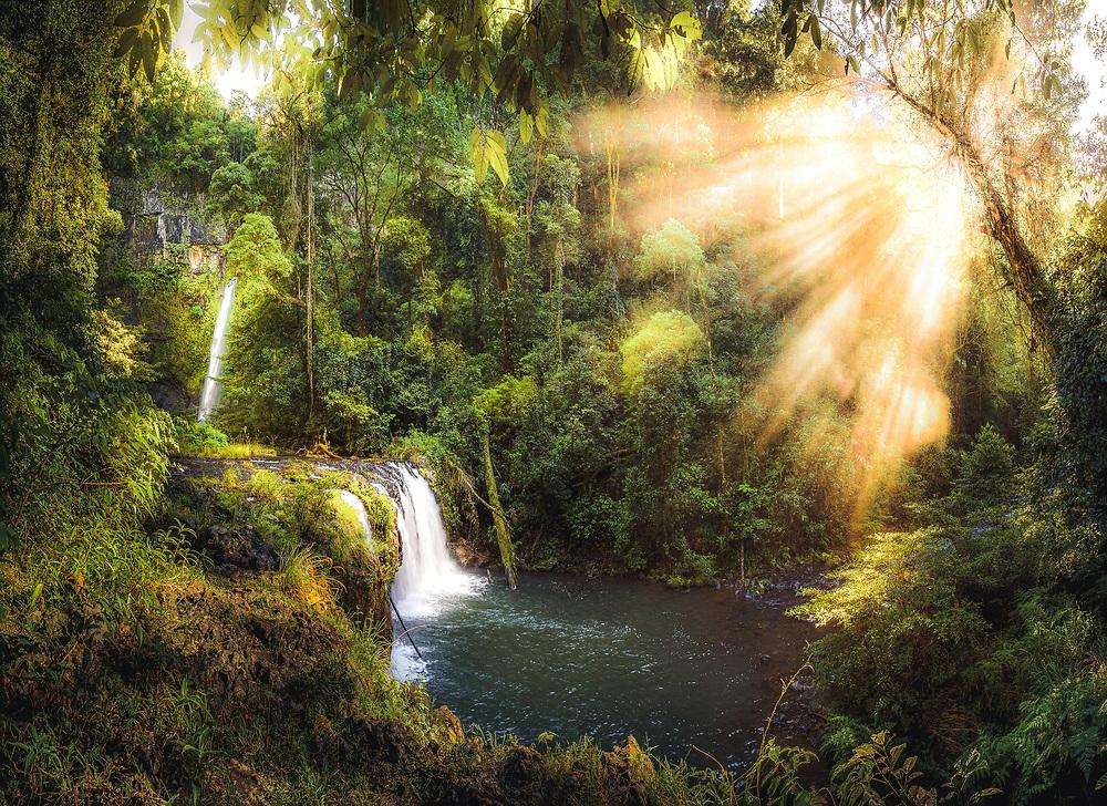 Nandroya Falls at Wooroonooran National Park, Queensland
