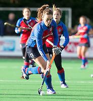 BILTHOVEN - HOCKEY - Sabine Mol van SCHC tijdens de hoofdklasse competitiewedstrijd tussen de dames van SCHC en LAREN (2-2). COPYRIGHT KOEN SUYK