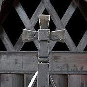 Noorwegen Gol 24 december 2008 20081224 Foto: David Rozing .Staafkerk in Gol in winter.Wintertime, old wooden stave church ..Foto: David Rozing