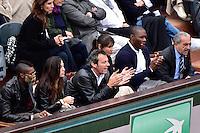 Djibril CISSE / Jean Luc REICHMANN / Gregory BAUGE / Jean GACHASSIN - 31.05.2015 - Jour 8 - Roland Garros 2015 <br />Photo : Dave Winter / Icon Sport