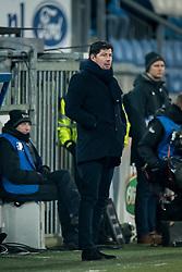 coach Erwin van de Looi of Willem II during the Dutch Eredivisie match between sc Heerenveen and Willem II Rotterdam at Abe Lenstra Stadium on March 03, 2018 in Heerenveen, The Netherlands