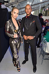 Katie Piper and Richard Sutton at the Glamour Women of The Year Awards 2017 in association with Next held in Berkeley Square Gardens, London England. 6 June 2017.