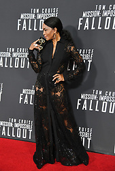 Angela Bassett poses for a picture during the U.S Premiere of 'Mission: Impossible - Fallout' at the National Air and Space Museum on July 22, 2018 in Washington, DC. Photo by Olivier Douliery/ Abaca Press