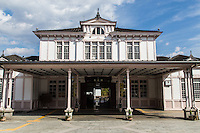 JR Nikko Station is the oldest wooden building in JR East. Frank Lloyd Wright designed this building, who also designed the former Imperial Hotel, which also was built with the Oya stone. Nikko Station is well known as a model of Meiji period architecture.