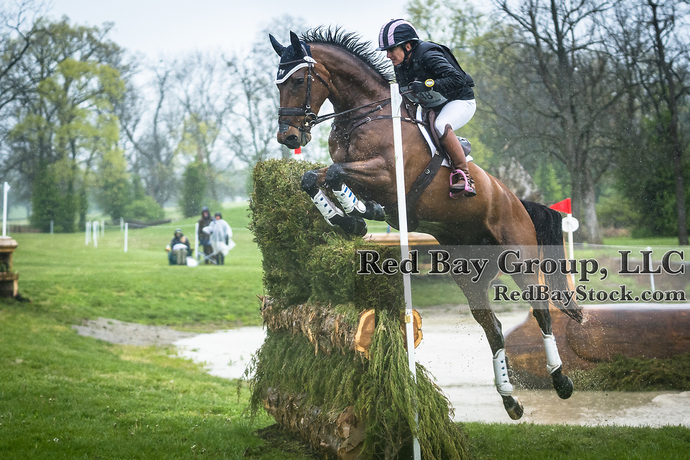 Erin Kellerhouse (USA) and Woodford Reserve at the Land Rover Kentucky Three-Day Event presented by MARS Equestrian held in Lexington, KY.