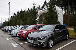 Cars during cycling race 6th Grand Prix Adria Mobil 2021, on March 28, 2021, in Novo mesto, Slovenia. Photo by Vid Ponikvar / Sportida