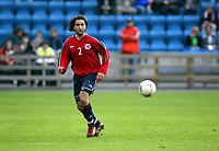Fotball, 28. april 2004, Privatlandskamp, Norge-Russland 3-2, Hassan El Fakiri, Norge