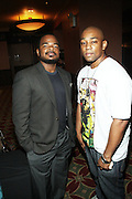 l to r: F. Gary Gray and Dennis White at The 13th Annual UrbanWorld Film Festival Premiere of ' Law Abiding Citizen'  held at AMC 34th Street on September 23, 2009 in New York City