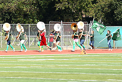 19 September 2015:  The Annual Running of the Tubas takes place as part of the halftime entertainment.  The Titan bands tuba players dress in various forms of fashion for the event.  The trophy is a package of Nabiso Oreo Double Stuffs.  NCAA division 3 football game between the Simpson College Storm and the Illinois Wesleyan Titans in Tucci Stadium on Wilder Field, Bloomington IL