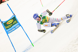 March 9, 2019 - Kranjska Gora, Kranjska Gora, Slovenia - Giovanni Borsotti of Italy in action during Audi FIS Ski World Cup Vitranc on March 8, 2019 in Kranjska Gora, Slovenia. (Credit Image: © Rok Rakun/Pacific Press via ZUMA Wire)
